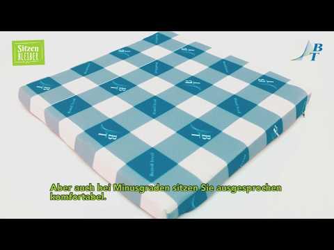 """Outdoorkissen """"SitzenBLEIBER"""" - Eine Innovation aus dem Hause Brändl Textil"""