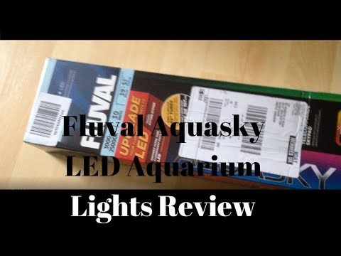 Fluval Aquasky LED Aquarium Lights Review