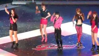 [FANCAM] 100321 4minute - What A Girl Wants @ Lotte Giant 2010 Opening Ceremony
