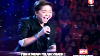 CHARICE and NINA Duet  I'll Be There  Wowowillie July 13, 2013