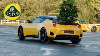 Lotus Christmas Greetings – Merry Driftmas!