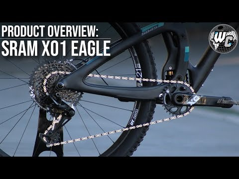Видео о Групсет Sram Eagle X01 DUB BOOST Black