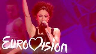 """RAYA performs """"Crazy"""" - Eurovision: You Decide 2018 - BBC"""