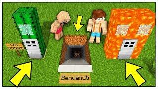 HO TROVATO LE BASI SEGRETE DI NOOB! - Minecraft ITA