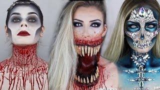 Os Melhores Tutoriais de Maquiagem para o Halloween #5 / CHEIAS DE CHARME TUTORIAIS👻💀