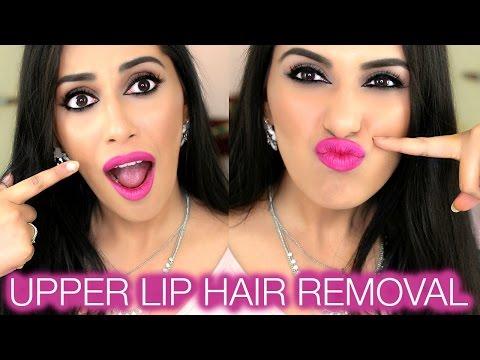 DIY | UPPER LIP HAIR REMOVAL at Home | Himani Wright (Threading & Waxing Facial Hair Tutorial)