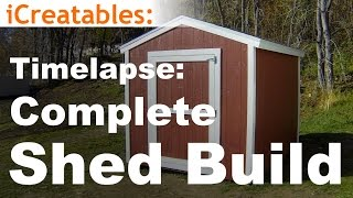 Timelapse of How To Build A Shed | Watch Every Step In The Shed Building Process