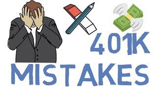 Seven 401k Mistakes (401k Investing for Beginners)