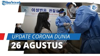 Update Corona Dunia 26 September : Total 232,3 Juta Terinfeksi, AS Catat Kasus Aktif Hampir 10 Juta