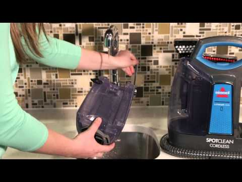 SpotClean Cordless How to Clean the Dirty Water Tank