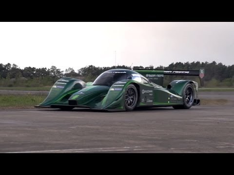 850 Horsepower Electric Racing Car