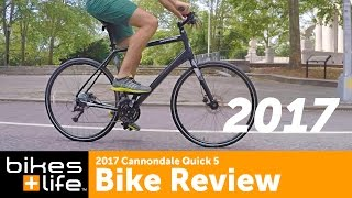 First look: 2017 Cannondale Quick 5 Bike Video Review