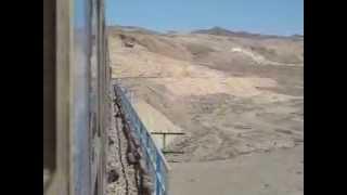 preview picture of video 'Railway between Badroud and Espidan'