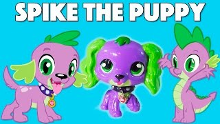 Custom SPIKE THE PUPPY LPS || Littlest Pet Shop + My Little Pony