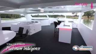 preview picture of video 'Platinum Indulgence Houseboat - All Seasons Houseboat Mildura'