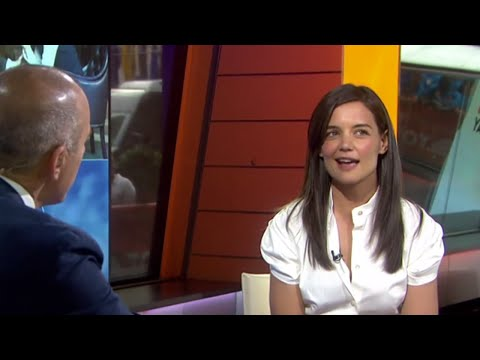 The Giver's Katie Holmes: Never Look Back | TODAY