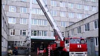Учения пожарных в Лечебной зоне
