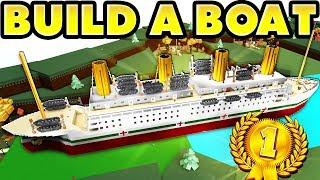 Build a Boat Titanic! 🏆 World Record! [100k Blocks!]