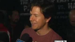 Mark Wahlberg at Pacquiao vs. Hatton Pre-fight Press Conf.