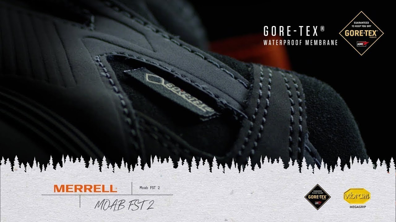 Merrell Moab FST 2 | Gore-Tex Feature