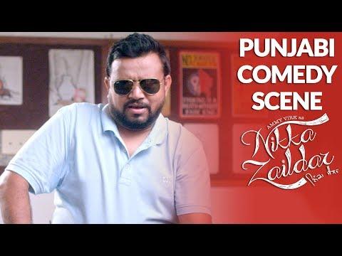 PUNJABI COMEDY SCENE | Ammy Virk | Nikka Zaildar | FUNNY COMEDY SCENE