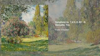 Symphony no. 1 in D major, D. 82