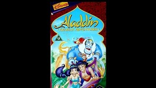 Digitized Opening To Aladdin Arabian Adventures: Aladdin To The Rescue (UK VHS)