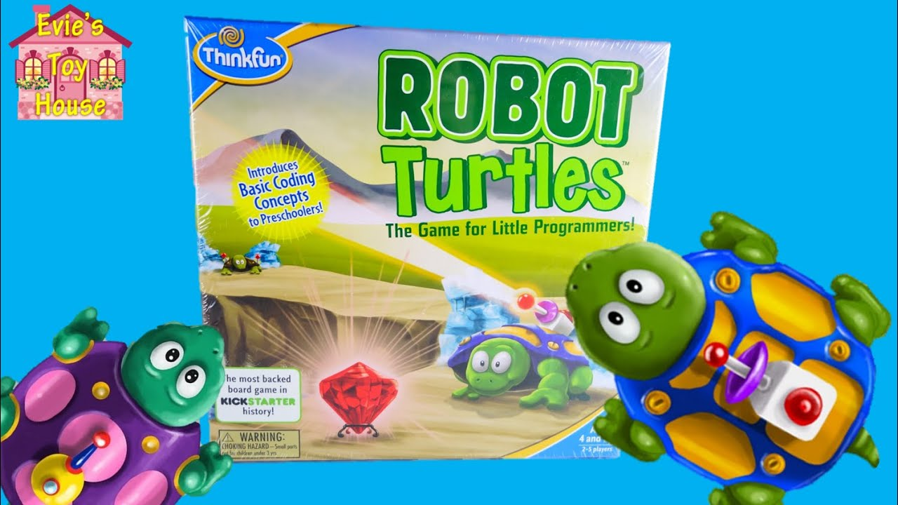Thinkfun STEM Toy -  Robot Turtles Board Game for Little Programmers