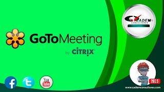 Como entrar a tu conferencia Go to meeting!