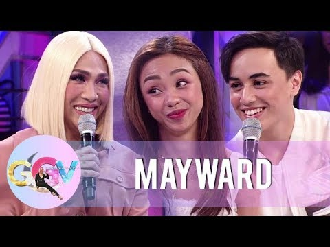 Vice Ganda tries to reveal the real score between Maymay and Edward | GGV