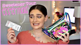 What's in my Sweetener Tour Bag? Ariana Grande Sweetener Tour Essentials | Amber Greaves