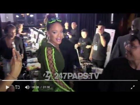 Backstage After Rihanna's Fenty x Puma 2017 Fashion Show