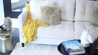 How To Decorate A Living Room With Light-Colored Furniture : Design Ingredients