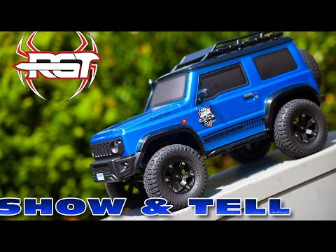 first look / impressions of the RGT Rock Cruiser v3 1/10th scale crawler :)