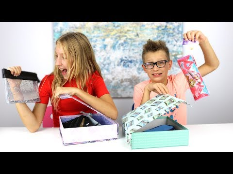 Mystery Box of Back to School Switch-Up Challenge!!!