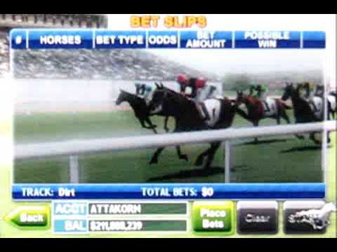 Video of Virtual Horse Racing 3D