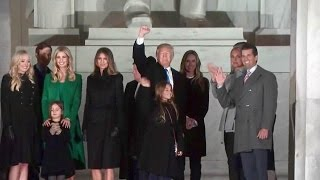 FULL EVENT. Pres. Donald Trump Remarks at Welcome Celebration Lincoln Memorial.