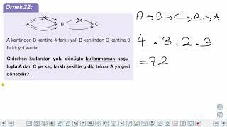 Eğitim Vadisi 10.Sınıf Matematik 1.Föy Sayma ve Olasılık 2 Konu Anlatım Videoları