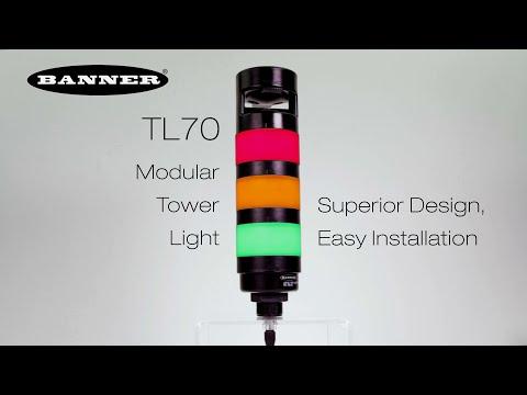 TL70 モジュラー式タワーライト