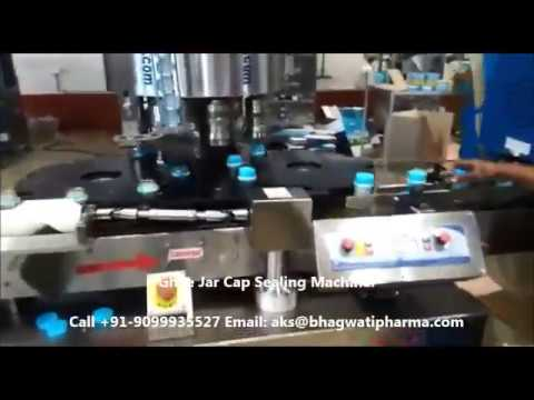 Bottle Screw Cap Sealing Machine