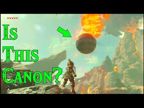 Is this Canon? What is Cannon in Zelda Breath of the Wild?