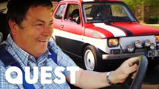 Wheeler Dealers: Trading Up | Giving A Battered Fiat A GREAT New Look!