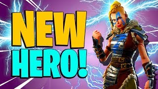 MACHINIST THORA | New Best Constructor in Fortnite Save the World PvE | Event Store Hero