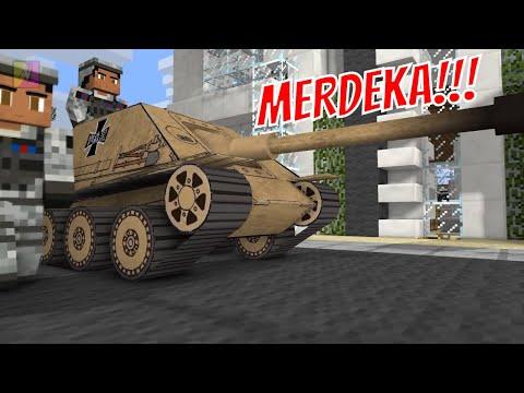 Jebreeet      sketsa minecraft animation indonesia   asian games 2018