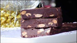 Turron de chocolate trufado | Javier Romero