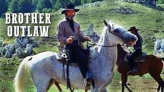 Brother Outlaw | WESTERN | Free Cowboy Movie | Full Movie on YouTube | English