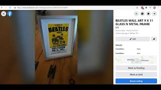 Real or Reproduction Beatles Memorabilia