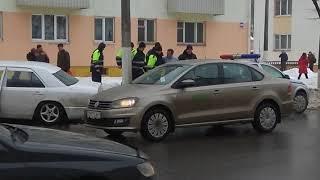 ДТП в центре города СЛУЦК 07.03.2018