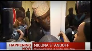 Miguna Miguna now claims; government wants to take me to Dubai by force""