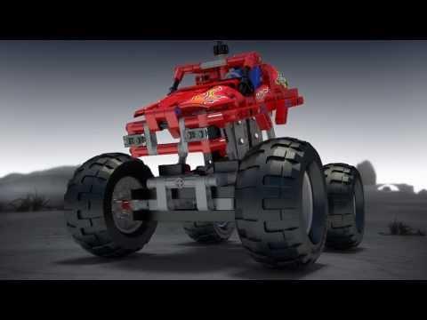 Vidéo LEGO Technic 42005 : Monster Truck